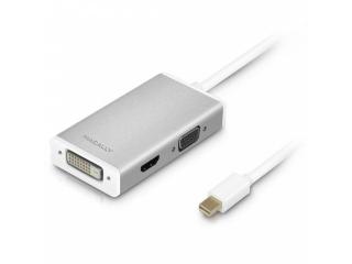 Macally Mini-DisplayPort zu DVI/HDMI/VGA Adapter Kabel Ultra HD 4K