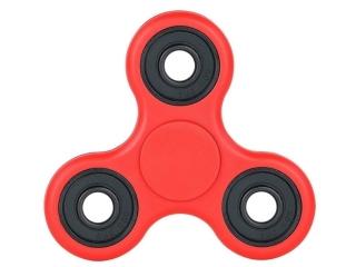 Fidget Spinner - Hand & Finger Tri-Spinner zum Relaxen in rot