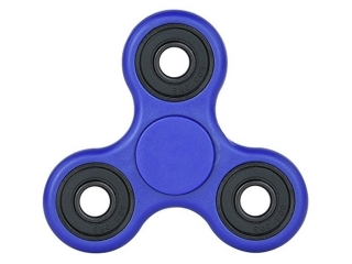 Fidget Spinner - Hand & Finger Tri-Spinner zum Relaxen in blau