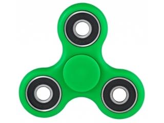 Fidget Spinner - Hand & Finger Tri-Spinner zum Relaxen in grün