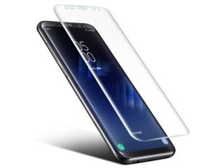 Galaxy S8 Vollbild 3D Panzerglas Curved Displayschutz Glasfolie Clear