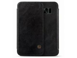 G-Case Samsung Galaxy S8+ Ledertasche Business Flipcover Case schwarz