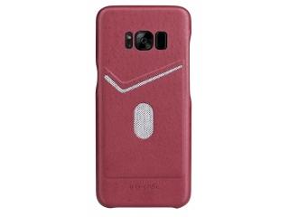 G-Case Jazz Series Samsung Galaxy S8+ schlankes Leder Case - rot