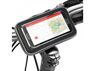 smartphone handy 4 5 halterung f r velo mountainbike. Black Bedroom Furniture Sets. Home Design Ideas
