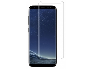 Samsung Galaxy S8+ 3D Panzerglas Case Friendly Full Coverage - clear