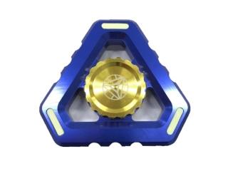 Fidget Spinner Alien Sky Aluminium mit Night Light - blau