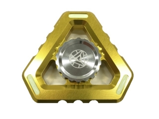 Fidget Spinner Alien Sky Aluminium mit Night Light - gold