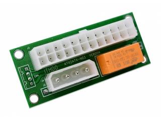 ATX 24-Pin Dual PSU Power Supply Netzteil Adapter für Crypto Mining