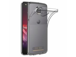 Gummi Hülle Motorola Moto Z2 Play flexibel dünn transparent thin clear