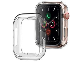 Apple Watch 38mm Ultra Thin TPU Cover Gummi Schutzhülle transparent