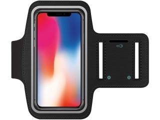 iPhone X/Xs Sportarmband aus Neopren + Schlüsselfach Kopfhörerschlitz