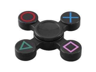 Fidget Spinner - Playstation - schwarz