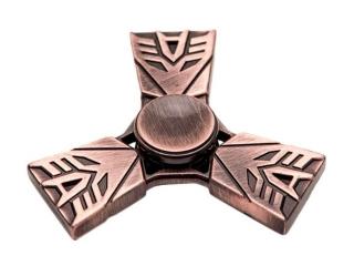 Transformers Premium Fidget Spinner aus Kupfer Stahl - Copper