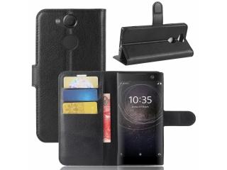 Sony Xperia XA2 Ledertasche Portemonnaie Karten Etui Schutzhülle