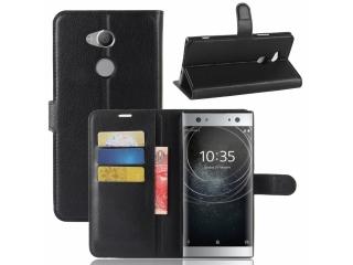 Sony Xperia XA2 Ultra Ledertasche Portemonnaie Karten Etui Schutzhülle
