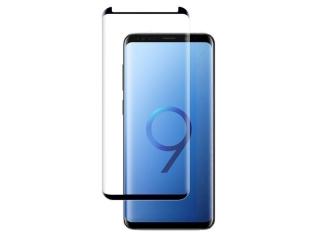 Samsung Galaxy S9+ 3D Panzerglas Case Friendly Full Coverage - schwarz