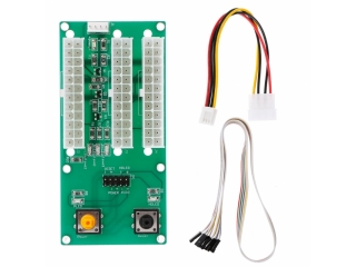 ATX 24-Pin Dreifach PSU Power Supply Netzteil Adapter Crypto Mining