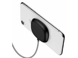 Baseus Saugnapf Qi Ladegerät Suction Cup Wireless Charger schwarz