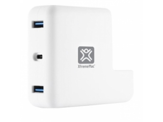 XtremeMac MacBook Charging Hub für Apple MacBook USB-C Ladegerät