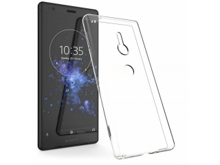 Sony Xperia XZ3 Hülle TPU flexibel dünn transparent thin clear case