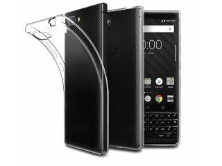 Blackberry Key2 Gummi Hülle flexibel dünn transparent thin case