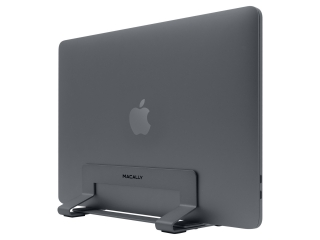 Macally VCSTAND - Vertical Laptop Aluminium Stand für MacBook Gray