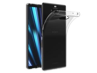 Sony Xperia 10 Plus Gummi TPU Hülle flexibel dünn transparent thin