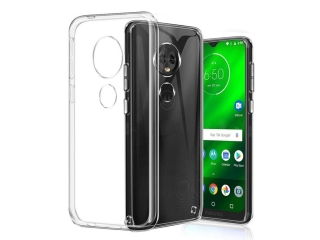 Moto G7 Plus Gummi TPU Hülle flexibel dünn transparent thin clear case