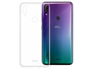 Wiko View 2 Plus Gummi TPU Hülle flexibel dünn transparent thin clear