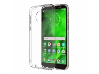 Moto G6 Gummi TPU Hülle flexibel dünn transparent thin clear case