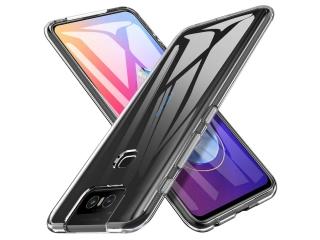 Asus ZenFone 6 Gummi TPU Hülle flexibel dünn transparent thin clear