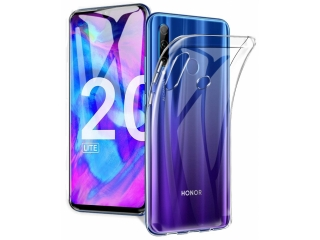 Honor 20 Lite Gummi TPU Hülle flexibel dünn transparent clear case