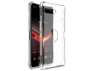 Asus ROG Phone 2 Gummi TPU Hülle dünn flexibel transparent clear case