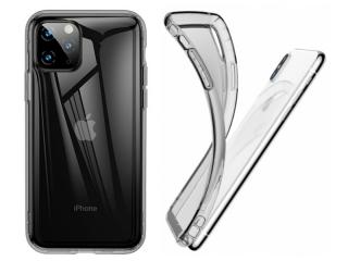 Baseus iPhone 11 Pro Max Ultra Thin Airbag Case Gummihülle clear black