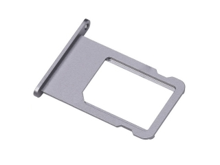 iPhone 6S Sim Tray Karten Schublade Adapter Schlitten - spacegrau
