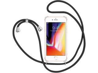 iPhone 8 Handykette Necklace Hülle Gummi transparent clear