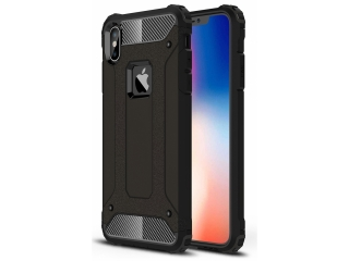 iPhone XS Max Outdoor Hardcase & Soft Inlay für Sport Business schwarz