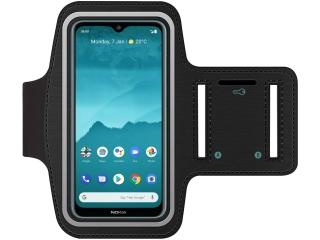 Nokia 6.2 Fitness Jogging Sport Armband mit Schlüsselfach