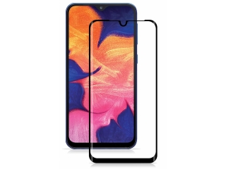 Samsung Galaxy A10 100% Vollbild Panzerglas Schutzfolie 0.23mm 2.5D