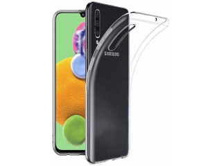 Samsung Galaxy A90 5G Gummi Hülle flexibel dünn transparent thin clear