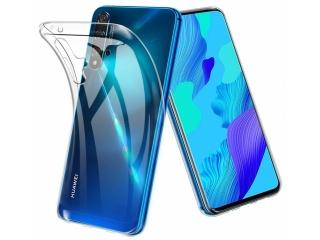 Huawei Nova 5T Gummi Hülle flexibel dünn transparent thin clear