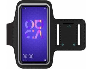 Huawei Nova 5T Fitness Jogging Sport Armband mit Schlüsselfach