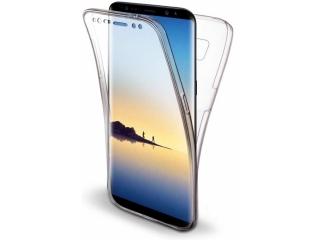 360 Grad Samsung Note 8 Touch Case Transparent TPU Rundumschutz