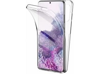 360 Grad Samsung S20+ Touch Case Transparent Silikon TPU Rundumschutz