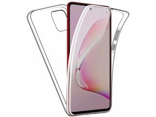 360 Grad Samsung Note 10 Lite Touch Case Transparent TPU Rundumschutz