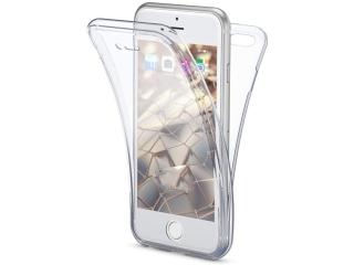 360 Grad iPhone SE 2020 Touchcase Transparent Silikon TPU Rundumschutz