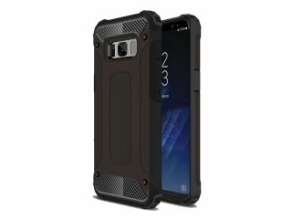 Samsung Galaxy S8 Outdoor Hardcase Soft Inlay Sport Business schwarz