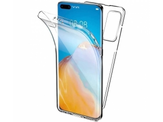 360 Grad Huawei P40 Touch Case Transparent Rundumschutz
