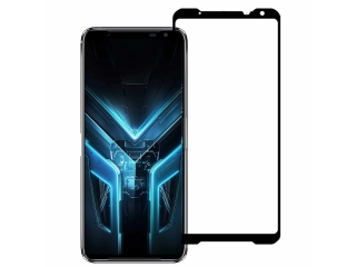 Asus ROG Phone 3 100% Vollbild Panzerglas Schutzfolie 0.23mm 2.5D Glas