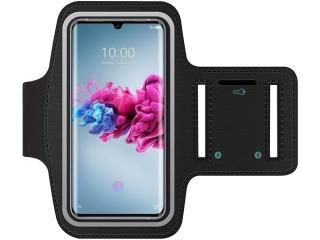 ZTE Axon 11 Fitness Jogging Sport Armband mit Schlüsselfach